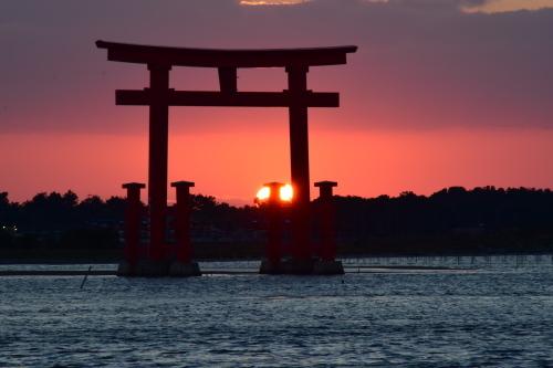 夕陽_d0285540_19033645.jpg