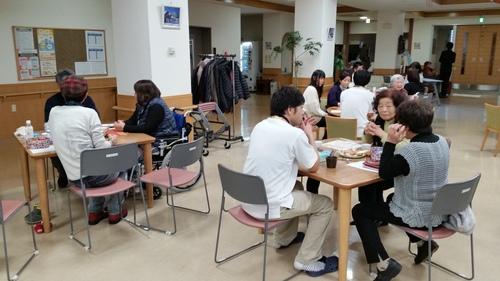 「暖 カフェ」 in はっさむ_a0316554_18544879.jpg
