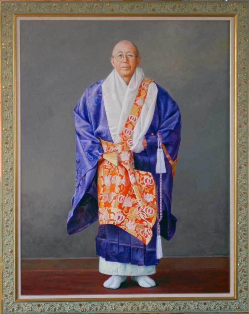 定年祝いのプレゼントに肖像画は喜ばれます。「肖像画の益子」_b0174462_15453852.jpg