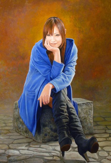 定年祝いのプレゼントに肖像画は喜ばれます。「肖像画の益子」_b0174462_15463506.jpg