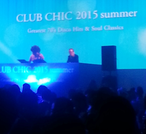 「CLUB CHIC 2015 summer ~ Greatest 70\'s Disco Hits & Soul Classics」@グランドハイアット東京_b0051666_1305458.jpg
