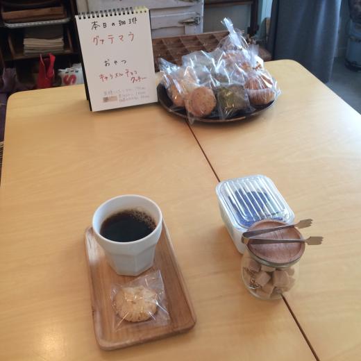 ハンカチと本日のoneday cafe。_a0164280_11380132.jpg