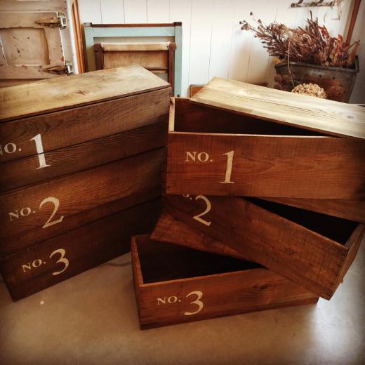 木箱と新着コーディネート。_a0164280_13251591.jpg
