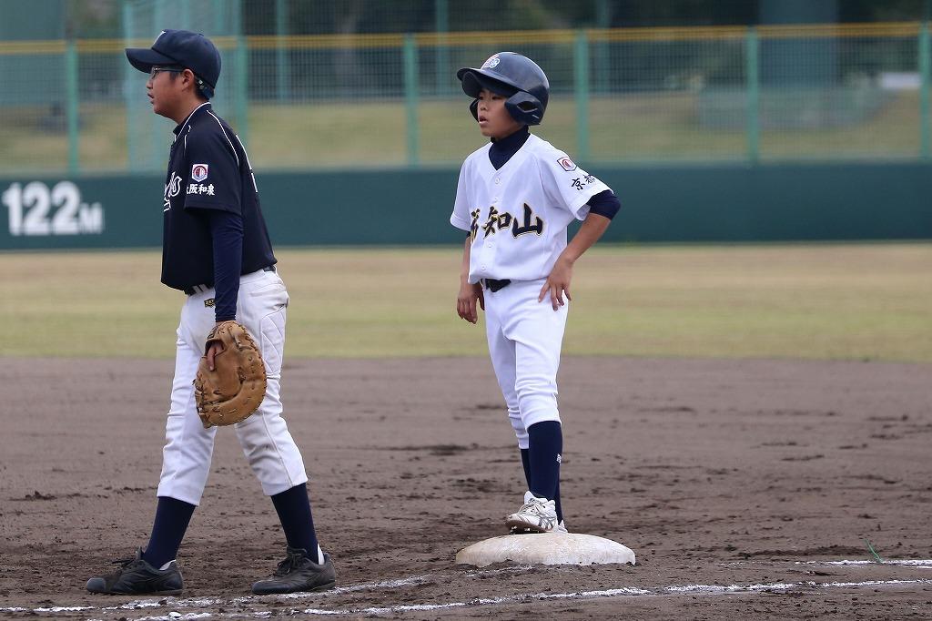 平成27年11月22日南山城ボーイズ1年生大会 vs大阪和泉ボーイズ2_a0170082_22401734.jpg