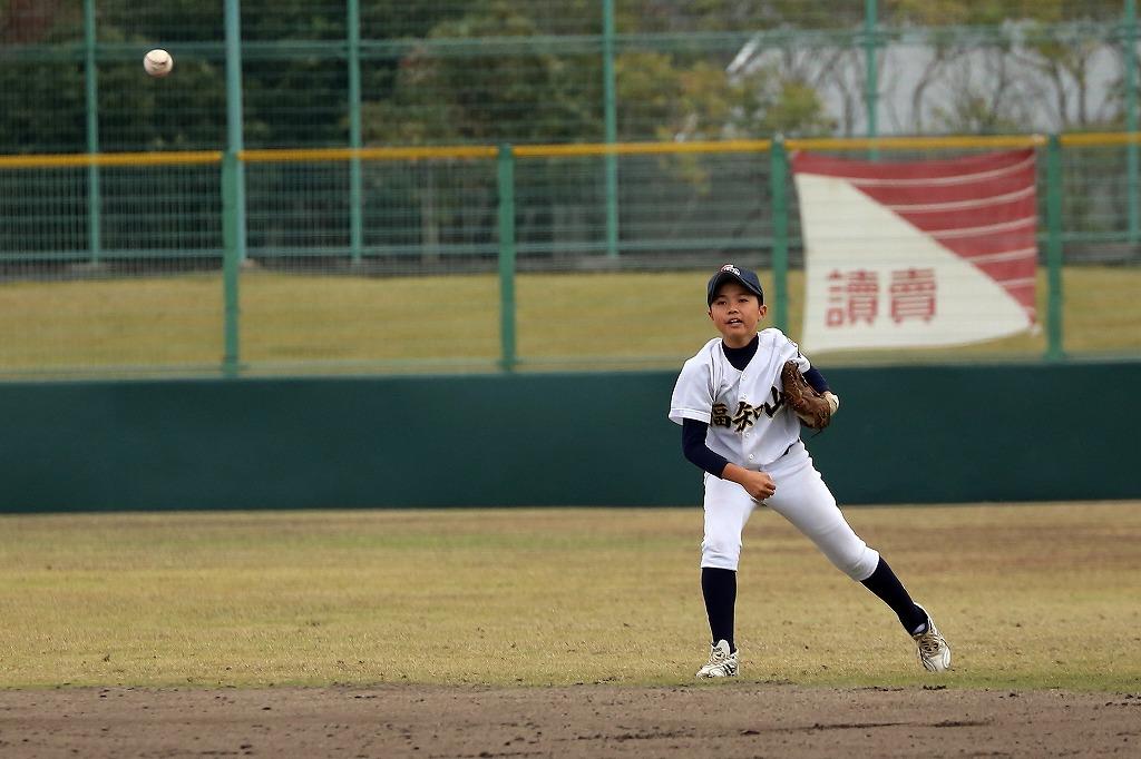 平成27年11月22日南山城ボーイズ1年生大会 vs大阪和泉ボーイズ2_a0170082_2240371.jpg