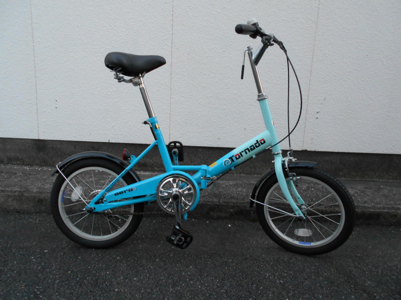 キズあり特価の折り畳み自転車あります_b0189682_9451861.jpg