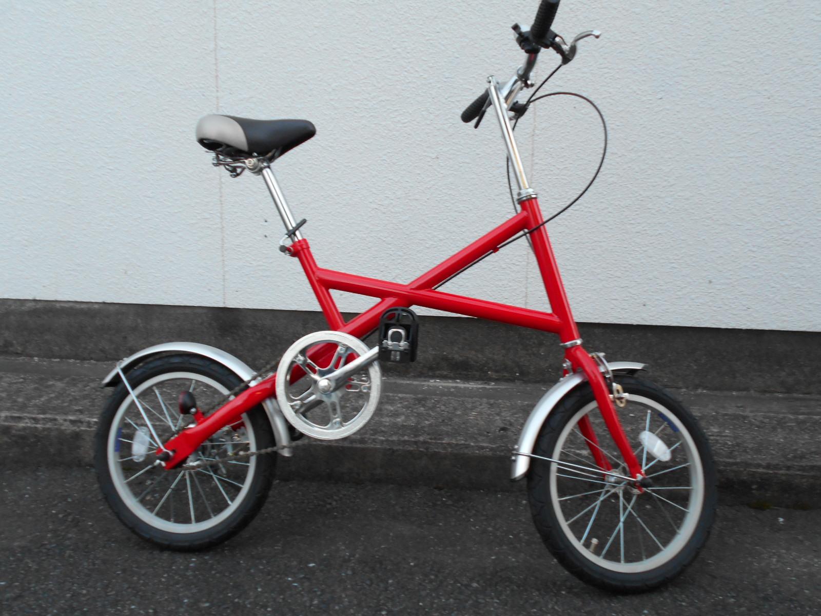 キズあり特価の折り畳み自転車あります_b0189682_946577.jpg