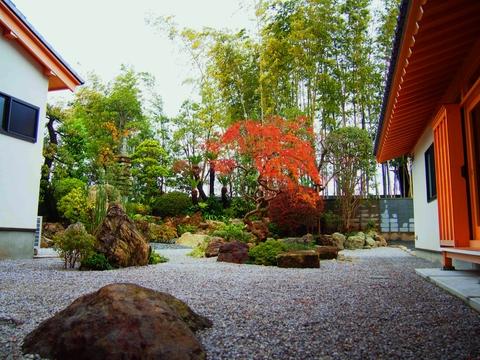 色も深まる秋のお庭_b0172896_10245710.jpg
