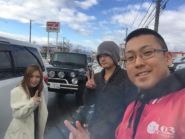 11月29日 日曜日!青森E様 納車!店長のニコニコブログ!_b0127002_21563232.jpg