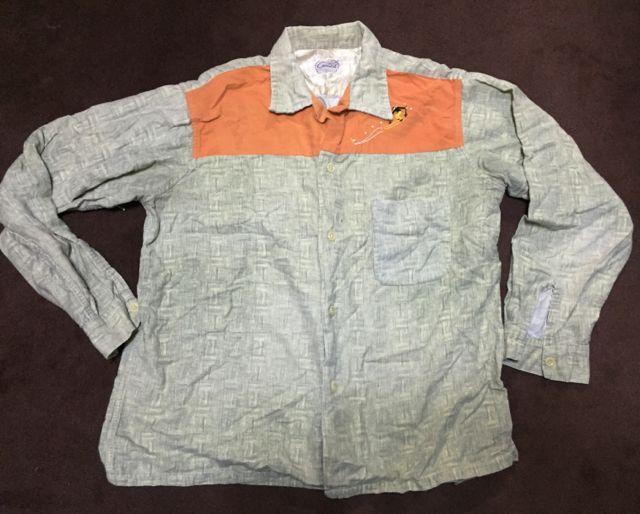 アメリカ仕入れ情報#2 50\'s プリントネルシャツなど・・。_c0144020_12113770.jpg