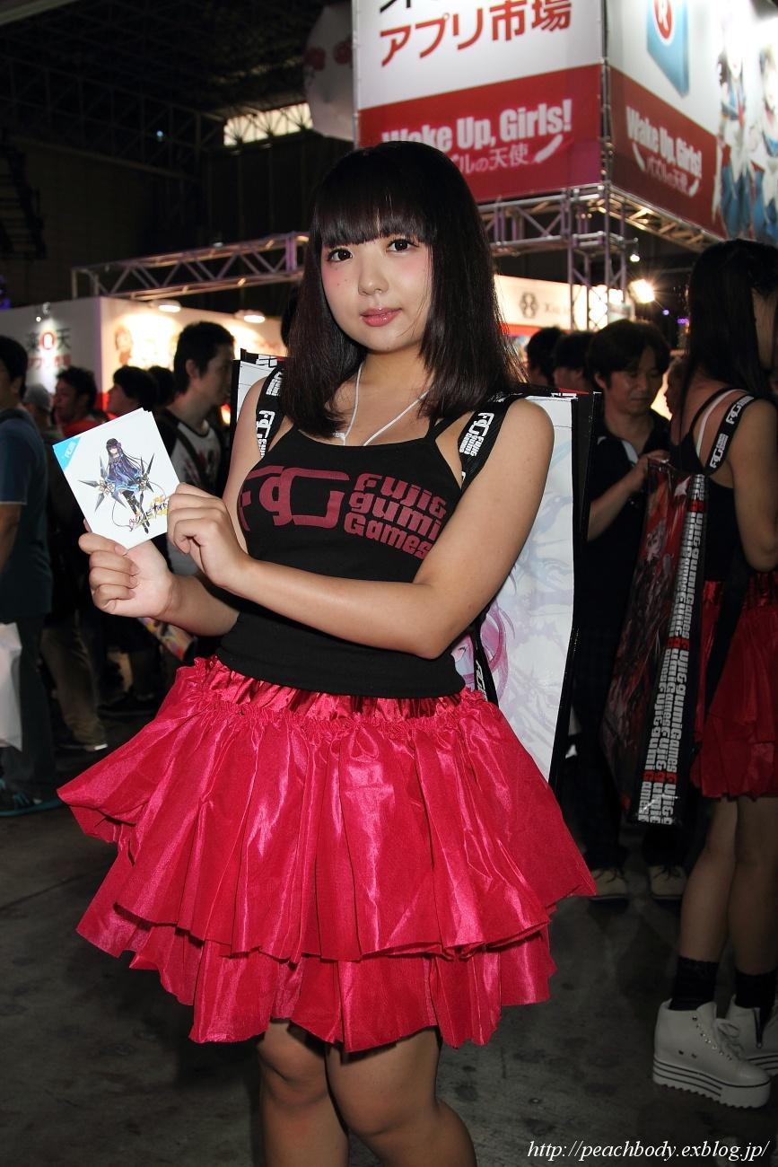 鳴海ちか さん(Fuji&gumi Games ブース)_c0215885_23233100.jpg