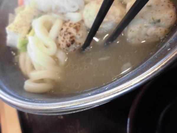 すき家の鶏つくね鍋定食     東淀川大桐店_c0118393_9131351.jpg