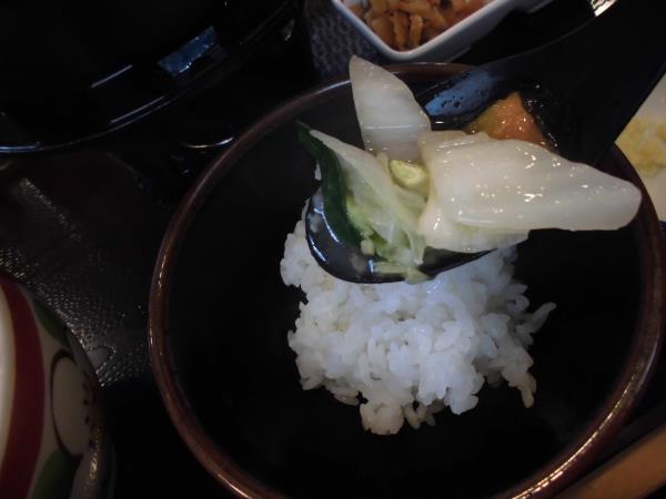 すき家の鶏つくね鍋定食     東淀川大桐店_c0118393_9175263.jpg