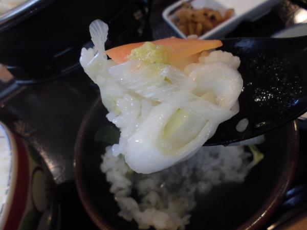 すき家の鶏つくね鍋定食     東淀川大桐店_c0118393_9195452.jpg