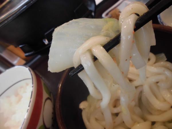 すき家の鶏つくね鍋定食     東淀川大桐店_c0118393_9303024.jpg
