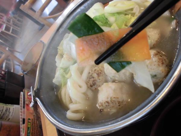 すき家の鶏つくね鍋定食     東淀川大桐店_c0118393_974896.jpg