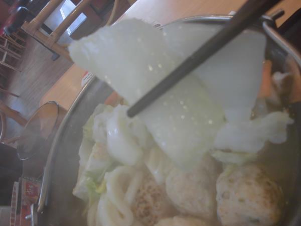 すき家の鶏つくね鍋定食     東淀川大桐店_c0118393_98243.jpg