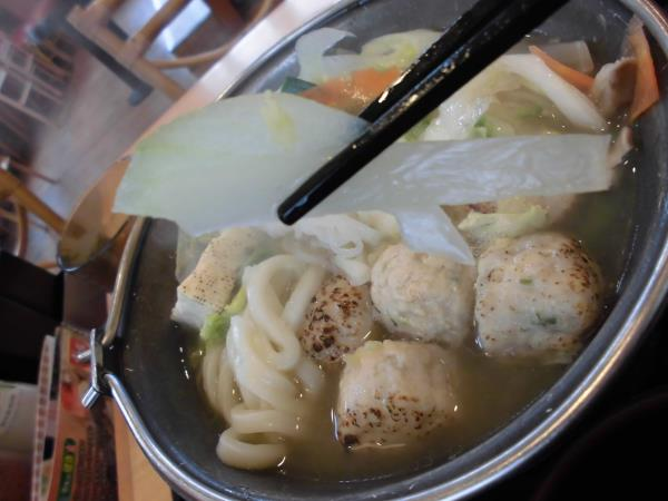 すき家の鶏つくね鍋定食     東淀川大桐店_c0118393_993152.jpg