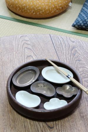 竹口要さんの豆皿が届きました。_e0348417_211494.jpg