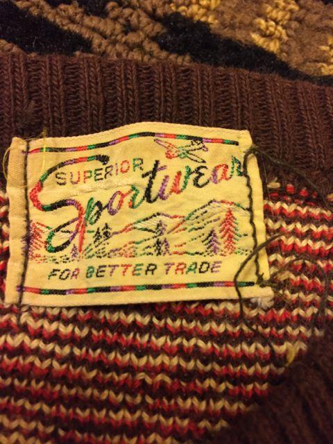 アメリカ仕入れ情報#6 50'S SPORTSWEAR  セーター!_c0144020_2322147.jpg