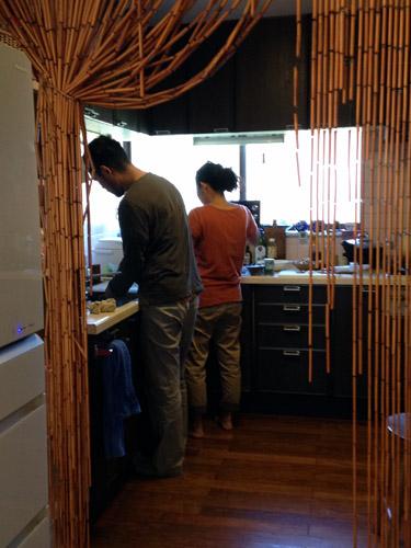 真鶴の大隈美佳さんのお宅にて。_a0026127_18324869.jpg