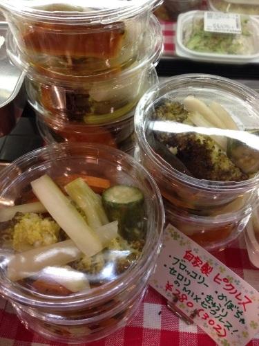 もぎたて!ベルクのお惣菜♪自家製ピクルスはブロッコリー、かぼちゃ、セロリ、きゅうりのボリュームMIX!_c0069047_21182173.jpg