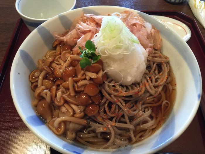 久しぶりのむさし坊!!新蕎麦超美味しかったーー!!勿論大盛りー♪_c0110051_051154.jpg