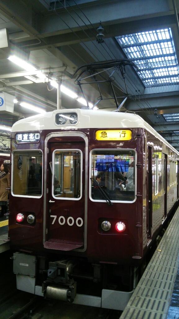 阪急7000F   西北急行_d0202264_08284907.jpg