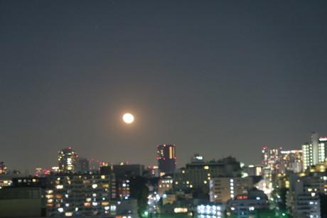 エッ、、、東京でも月が見えるの?(笑)_e0292172_18212771.jpg
