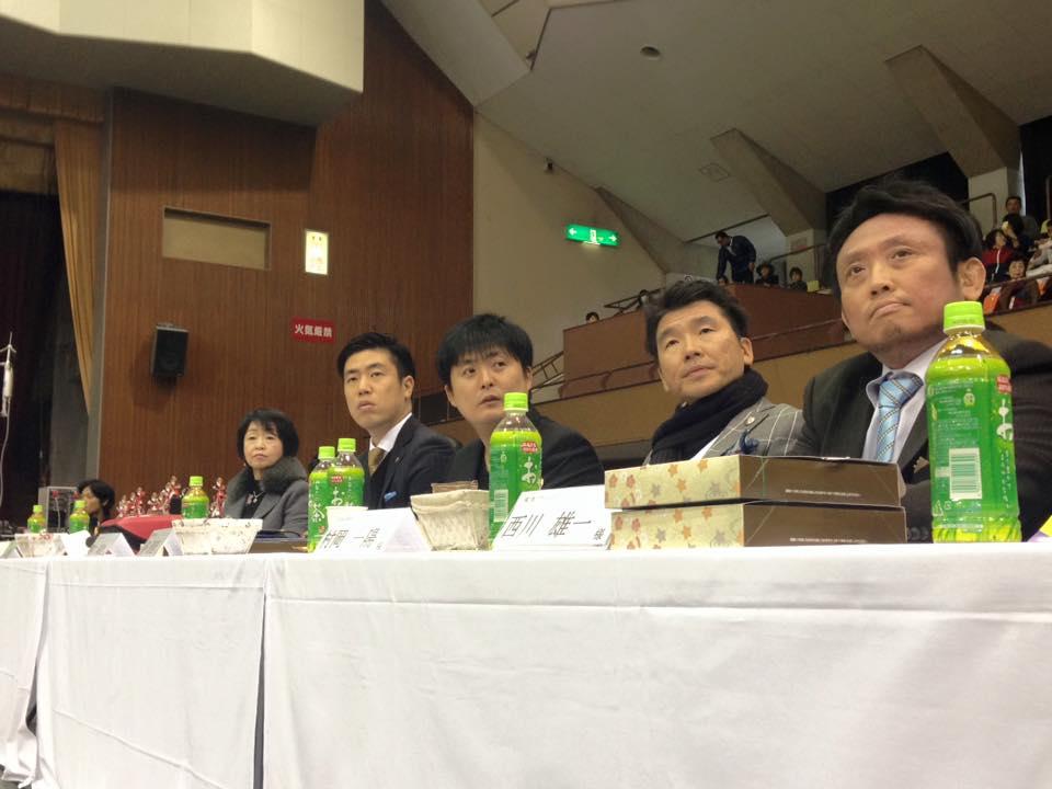 新保支部長主催の「第4回鹿児島県大会」が、満員の鹿児島県体育館で開催され、大成功に終わりました。_c0186691_11364144.jpg