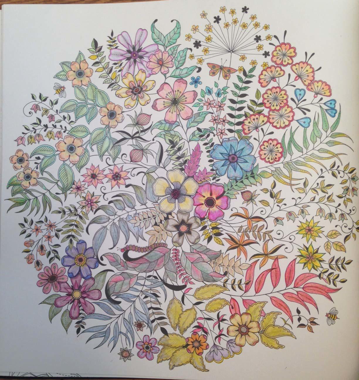 [ベスト] 大人の塗り絵 秘密の花園