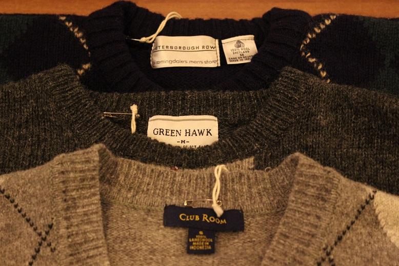 古着のセーターアイテムご紹介_f0191324_929895.jpg