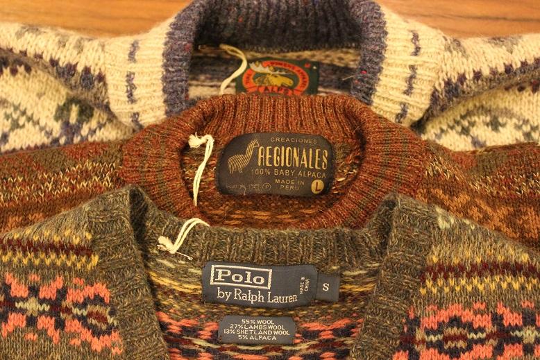 古着のセーターアイテムご紹介_f0191324_9303270.jpg