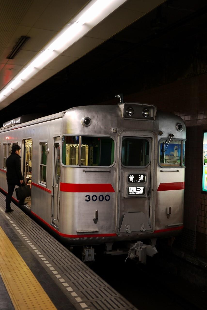 新開地にて後3600 前3000 阪急電車 アルミボディ_d0171835_11321358.jpg