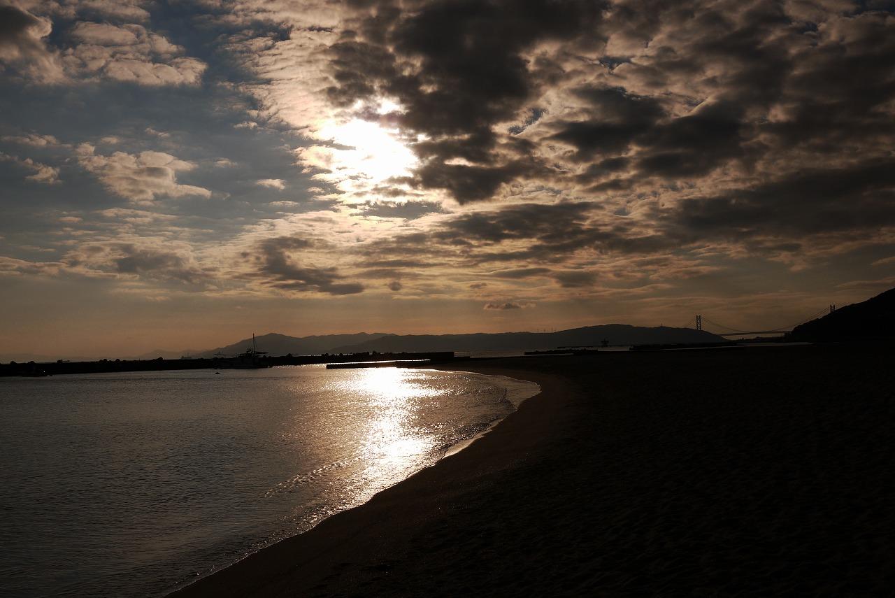 冬の須磨ビーチ 夕方_d0171835_174526100.jpg