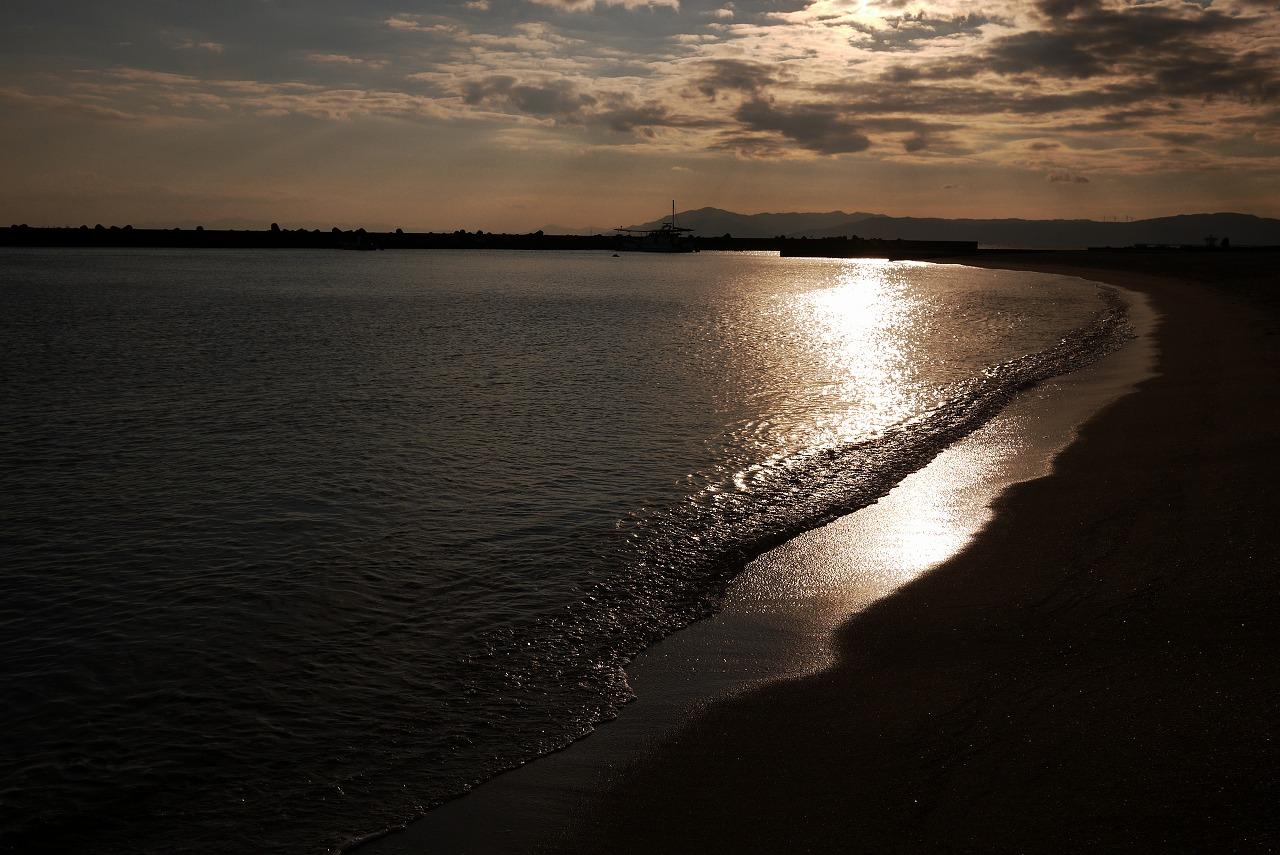 冬の須磨ビーチ 夕方_d0171835_17453828.jpg