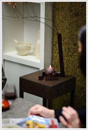 雅やかに色絵の器でワインパーティー ~パーティーコーディネートクラス_d0217944_030761.jpg