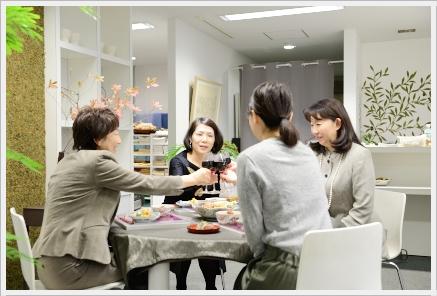 雅やかに色絵の器でワインパーティー ~パーティーコーディネートクラス_d0217944_17325.jpg