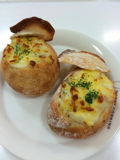 リプトンイエローラベル×レシピブログ「ひらめき朝食」イベントレポートと今日のパン教室の様子_f0149855_189934.jpg