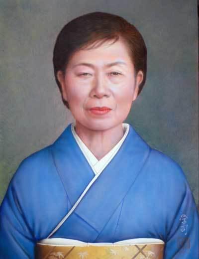 定年祝いのプレゼントに肖像画は喜ばれます。「肖像画の益子」_b0174462_16084632.jpg