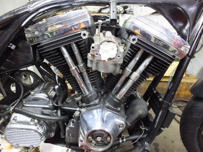 EVO エンジンバラシ_c0226202_21191788.jpg