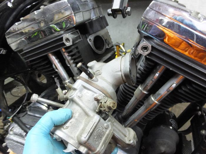 EVO エンジンバラシ_c0226202_2122417.jpg