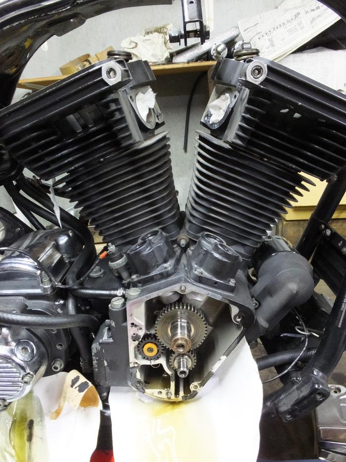 EVO エンジンバラシ_c0226202_21302699.jpg