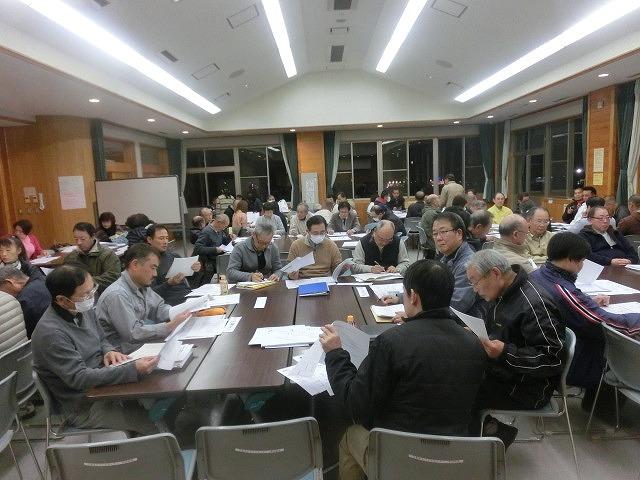 12月6日の吉原高校避難所開設・運営訓練に向けた最後の委員会全体会_f0141310_7324115.jpg