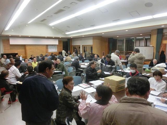 12月6日の吉原高校避難所開設・運営訓練に向けた最後の委員会全体会_f0141310_7325258.jpg