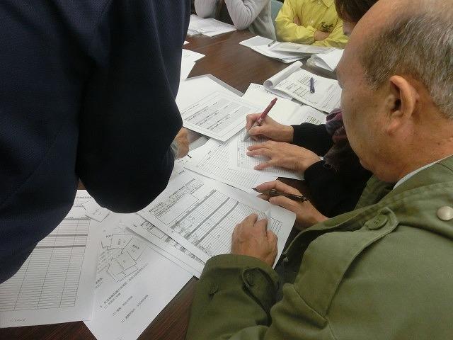 12月6日の吉原高校避難所開設・運営訓練に向けた最後の委員会全体会_f0141310_7332656.jpg