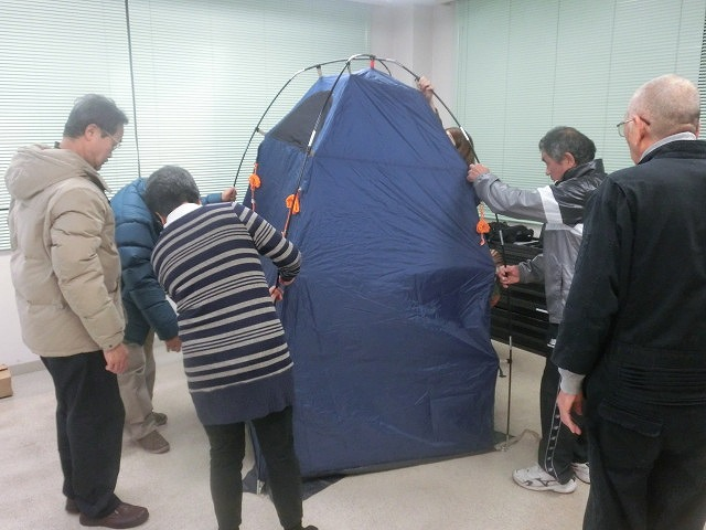 12月6日の吉原高校避難所開設・運営訓練に向けた最後の委員会全体会_f0141310_7333516.jpg