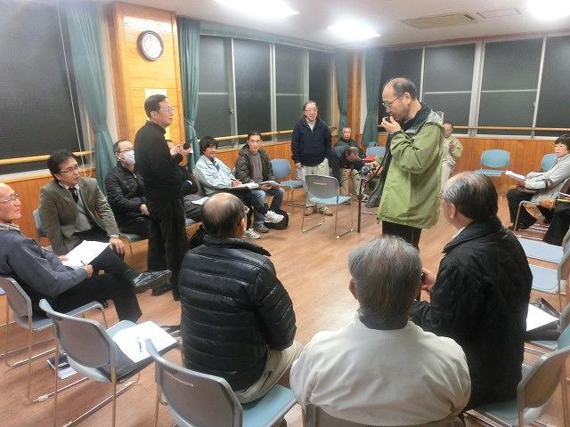 12月6日の吉原高校避難所開設・運営訓練に向けた最後の委員会全体会_f0141310_7342719.jpg