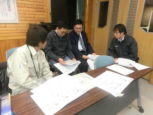 12月6日の吉原高校避難所開設・運営訓練に向けた最後の委員会全体会_f0141310_7343959.jpg