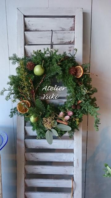 クリスマスリース^^_f0240834_8302741.jpg